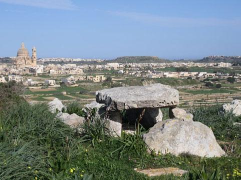 Dolmen on Malta